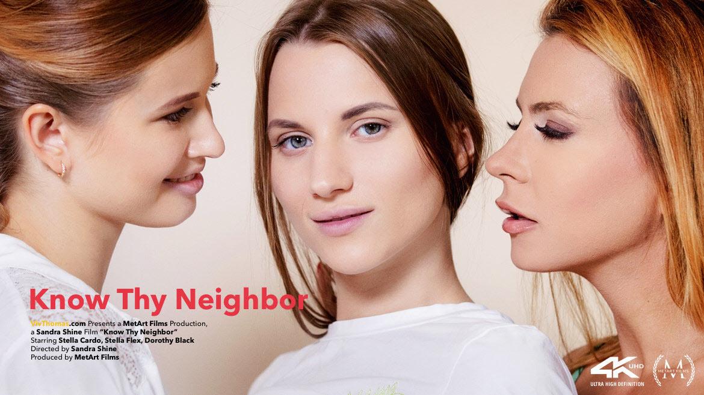 Vidéo gratuite lesbiennes Dorothy Black, Stella Cardo et Stella Flex